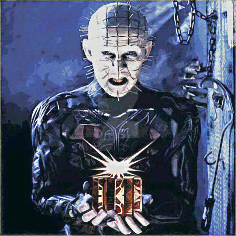 Pinhead Painting by agonistes666