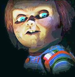Chucky Painting