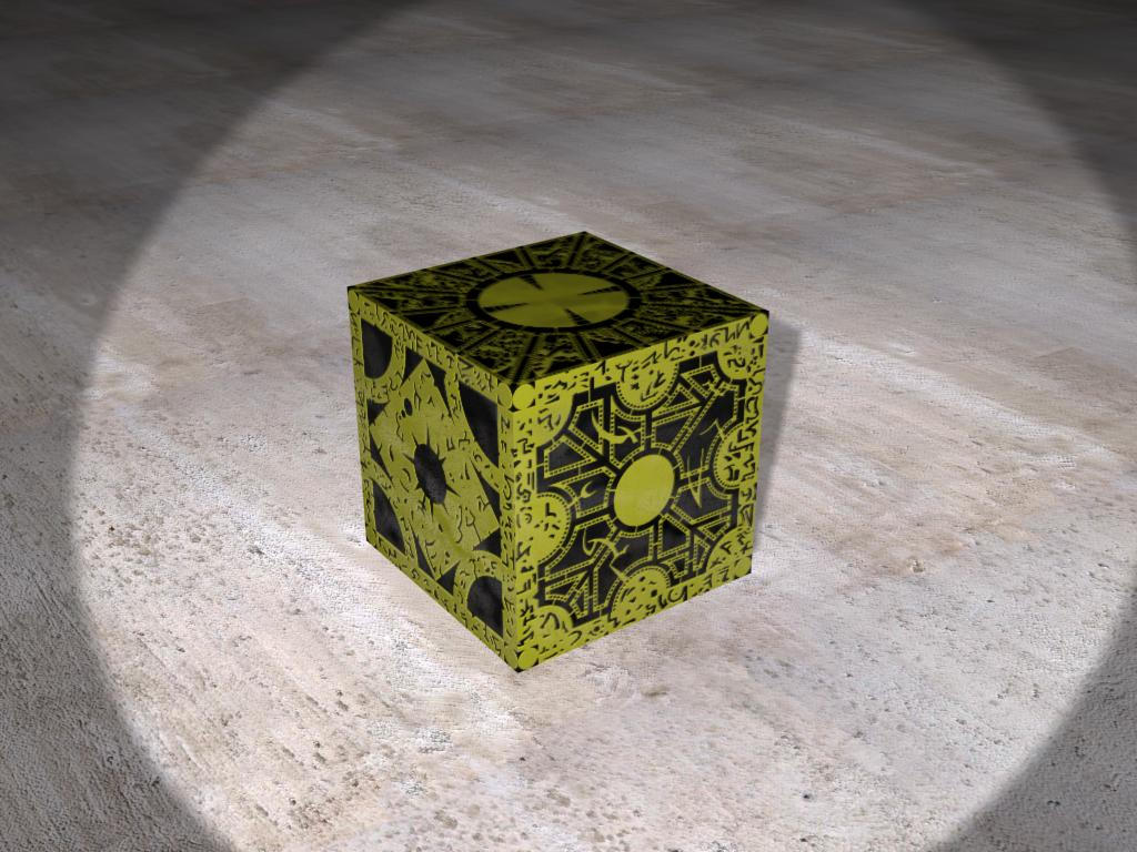 Hellraiser Puzzle Box v1 by agonistes666