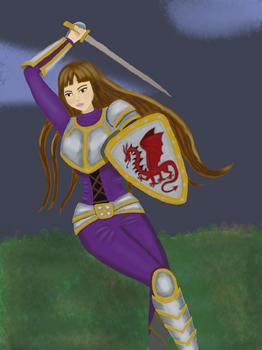 Wielding a Sword