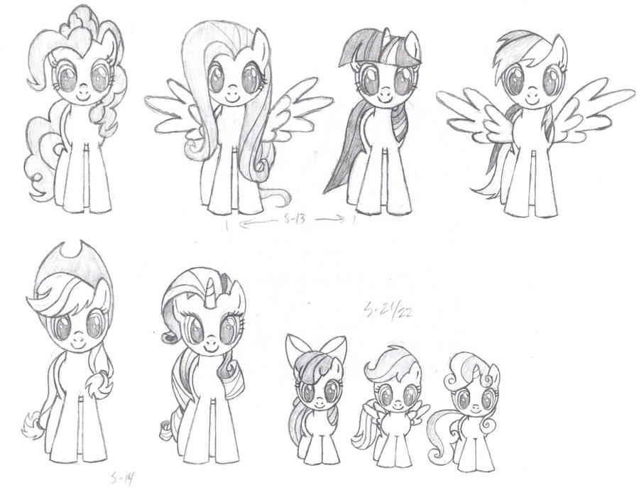 MLP FiM Front Pencil by Nimaru