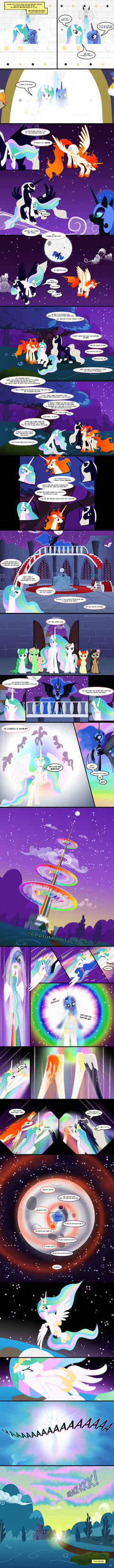 The Real Story - P3, The Moon by Nimaru