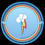 Cutie Circle - Rainbow Dash by Nimaru