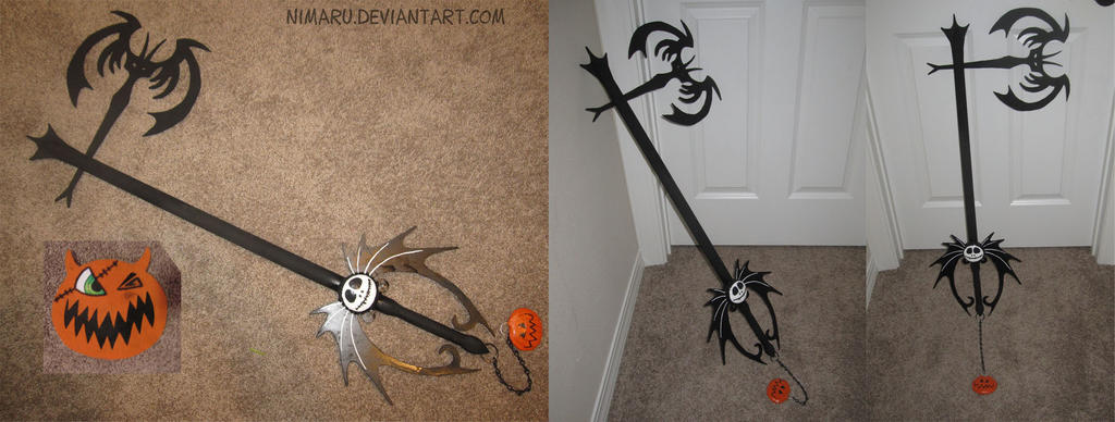 Halloweentown Keyblade by Nimaru