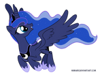 Princess Luna - Beautiful Pony of the Night