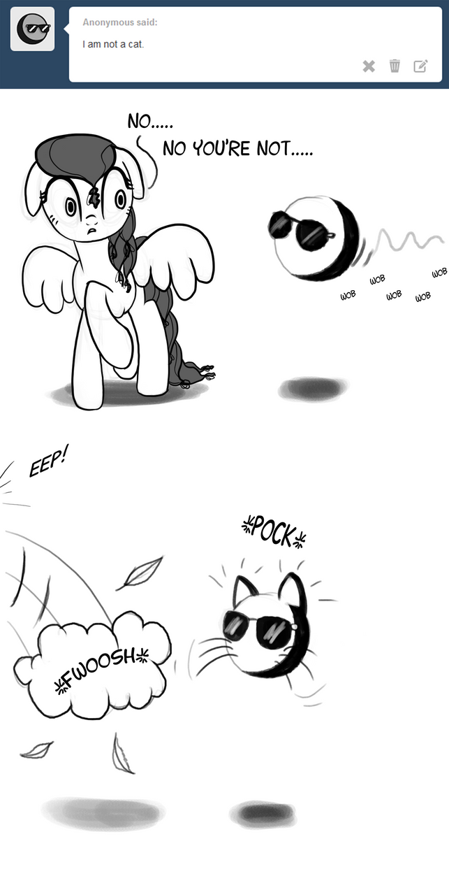 Not a cat by Nimaru