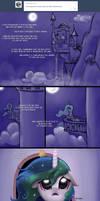 Celestia's Night Ritual by Nimaru