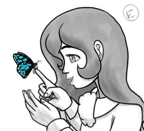 Celeste Butterfly by Nimaru
