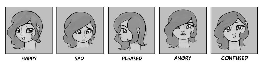 Celeste Faces 1 by Nimaru