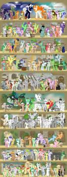 9 Years of OC Ponies
