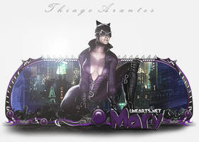 Sign Catwoman - Mary by thiagoarantes20