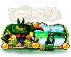 Sign Cell Dragon Ball - Uriel MuVicio by thiagoarantes20