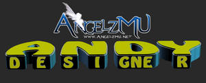 Tipografia 3D - Andy AngelzMU.Net by thiagoarantes20