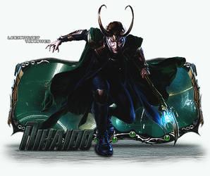 Sign Modelada - Loki