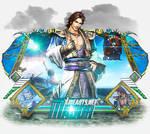 Sign Modelada Dynasty Warriors