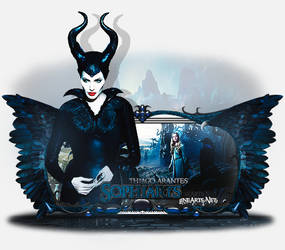 Sign Modelada Maleficent
