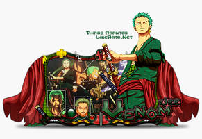 Sign Zoro One Piece by thiagoarantes20