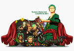 Sign Zoro One Piece
