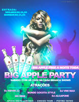 Flyer Big Apple Party by thiagoarantes20