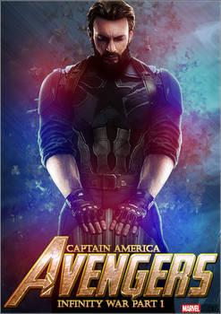 Capitain America Infinity War Wallpaper