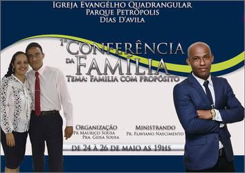 Banner Primeira Conferencia da Familia by thiagoarantes20