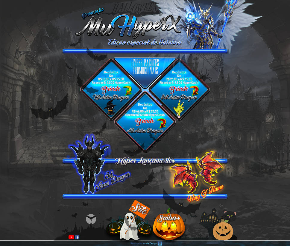 Entrada Promocional - Especial Outubro MuHyperX by thiagoarantes20