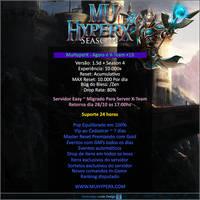 Banner de Migracao MuHyperX X-Team by thiagoarantes20