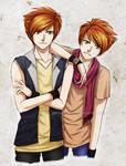 G: Hikaru and Kaoru