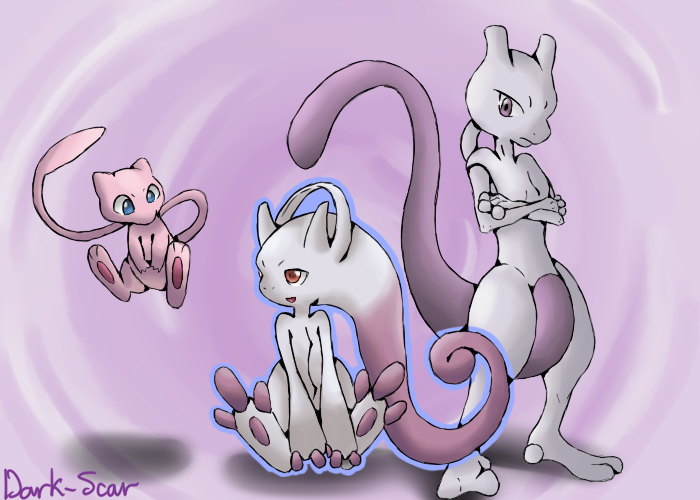 Mew And Mewtwo Story