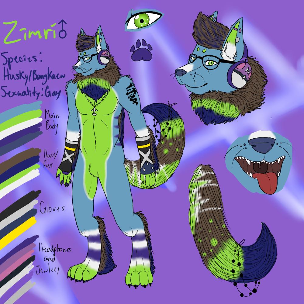 Zimri Anthro Ref by Zimerick
