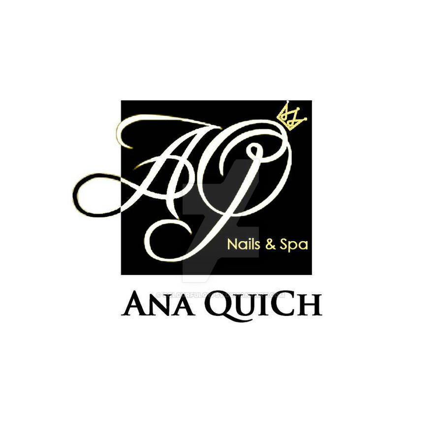 Ana Quich Nail Spa Logo By Colourfulgypsy On Deviantart