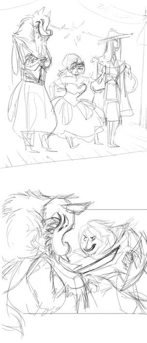 DoFD: Carnival of Time sketches