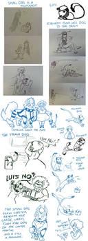 PP Puppy SketchPost