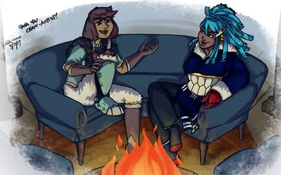 CAS OCT: Fireside Respite