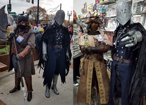 Bloody Crow of Cainhurst cosplay