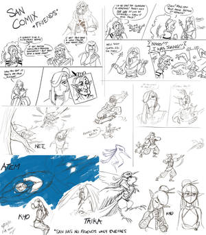 Roots of the Wild: A Sketchdump