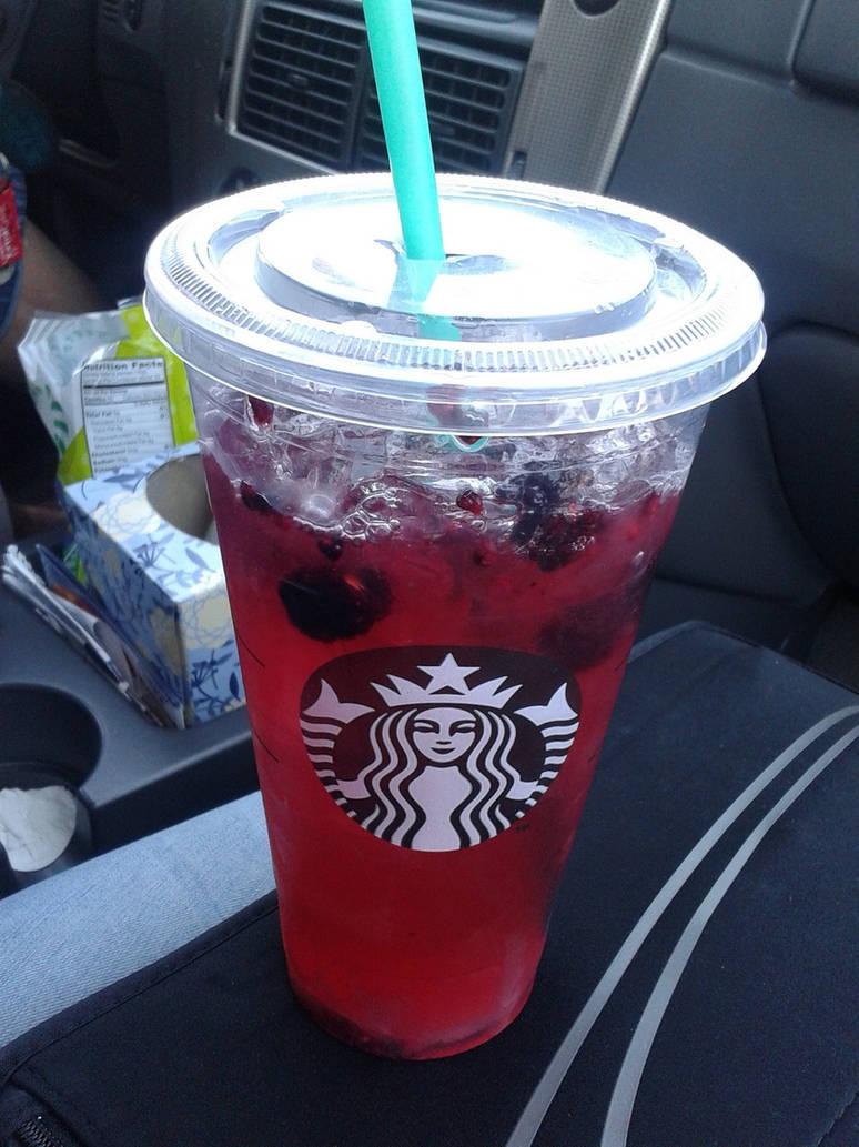Starbucks Very Berry Hibiscus Refresher By Azaleasnape On Deviantart