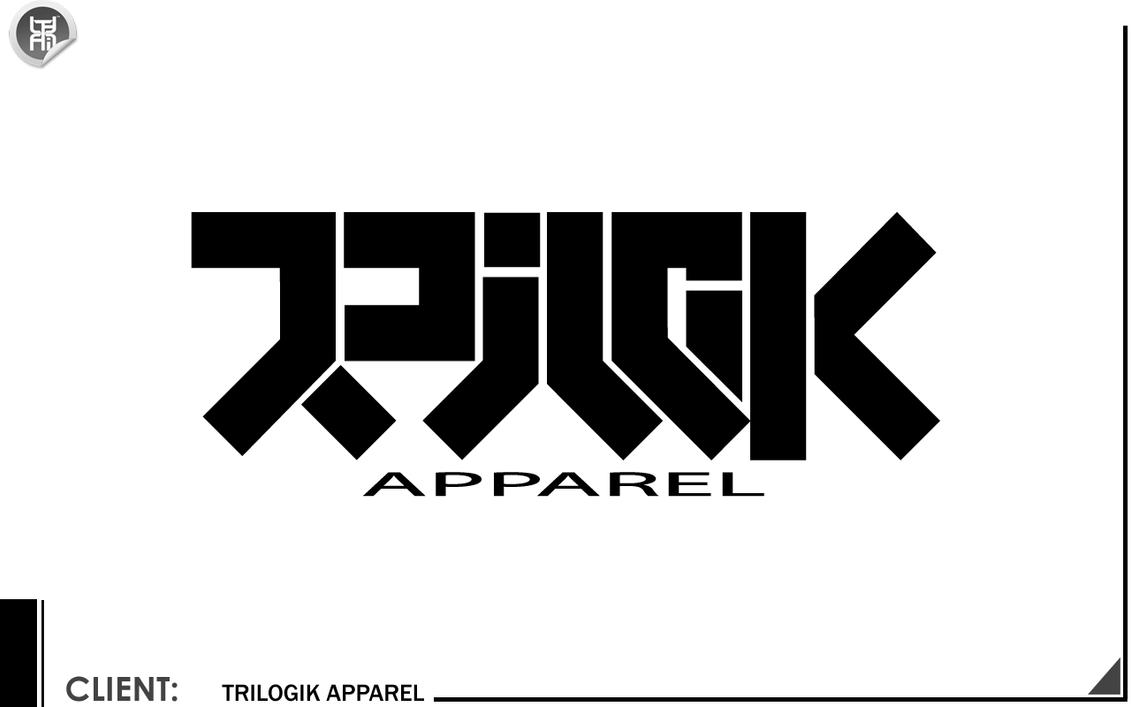 Trilogik apparel logo v1 by kromat1k on deviantart for Hats and shirts with company logo