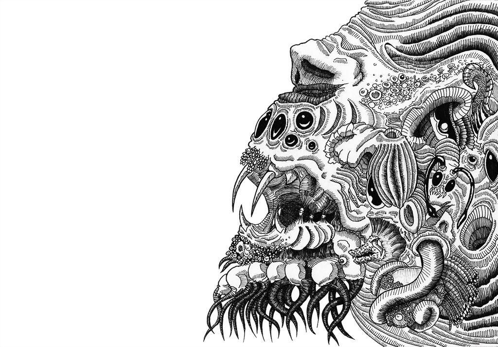 Rage lineart by Aralepus