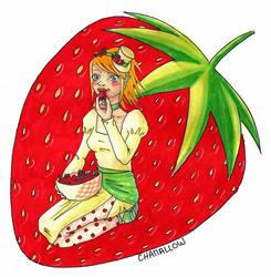 Strawberry maniac by Chamchan