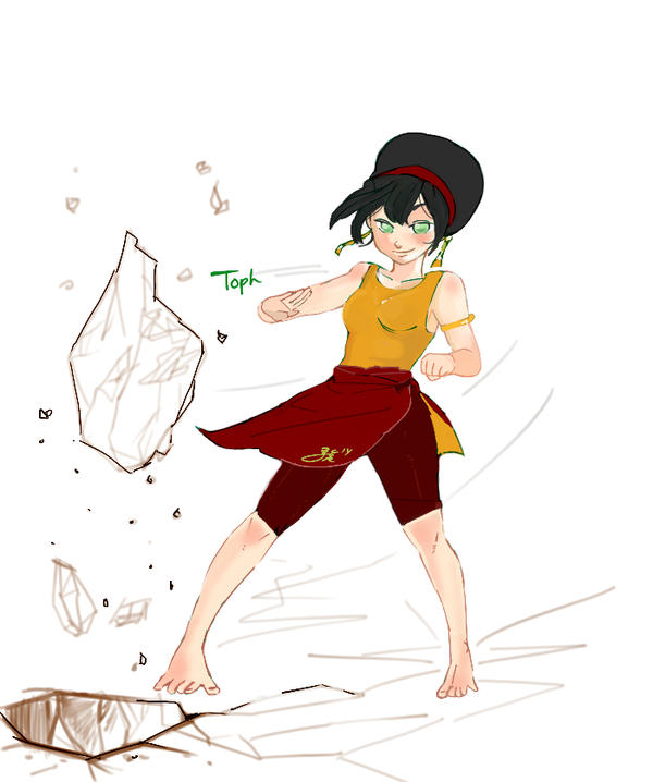 toph for Kaze5115 by psycheJ93