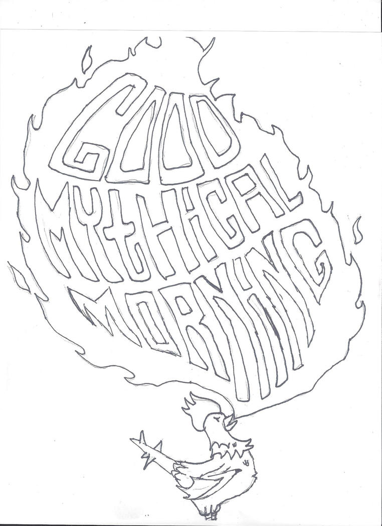 good mythical morning  by celticllama on deviantart