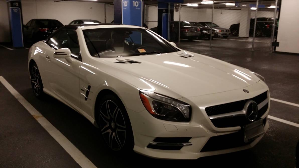 2015 Mercedes Benz Sl 550 White Arrow Edition By Kamaji H On Deviantart