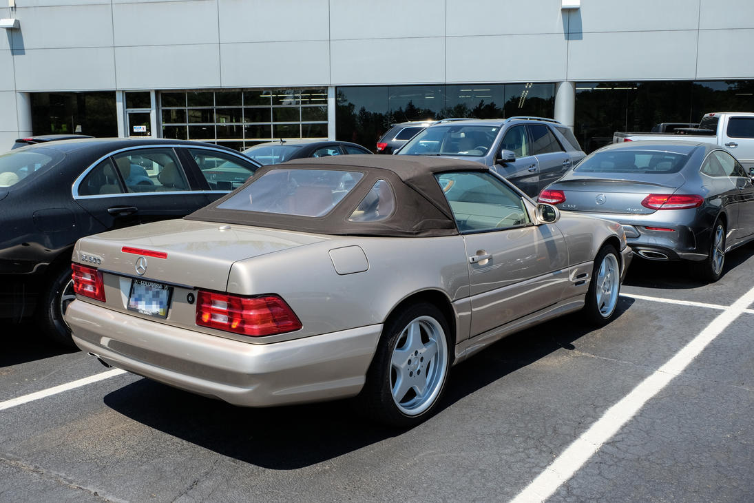 1998 2002 mercedes benz sl500 desert silver by kamaji h for 1998 mercedes benz sl500