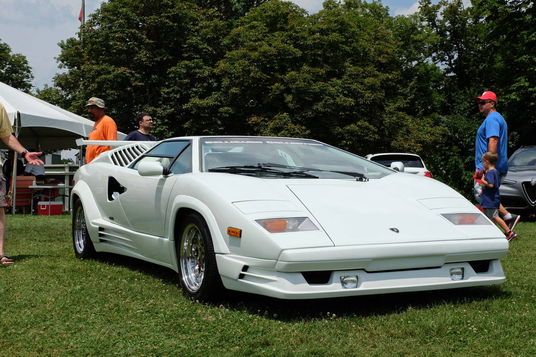 1989 Lamborghini Countach 25th Anniversary Edition By Kamaji H On