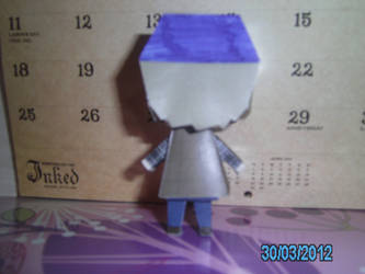 Bobby Singer Papercraft 3 - Back by princess6590
