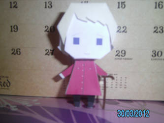 John Watson Papercraft - 1 front by princess6590