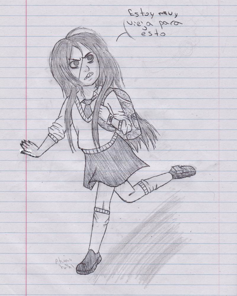 Si fuera a una escuela de villanos estaria como by GabyGirl1243