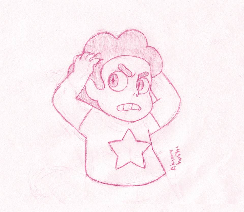 Pink Steven Universe by GabyGirl1243
