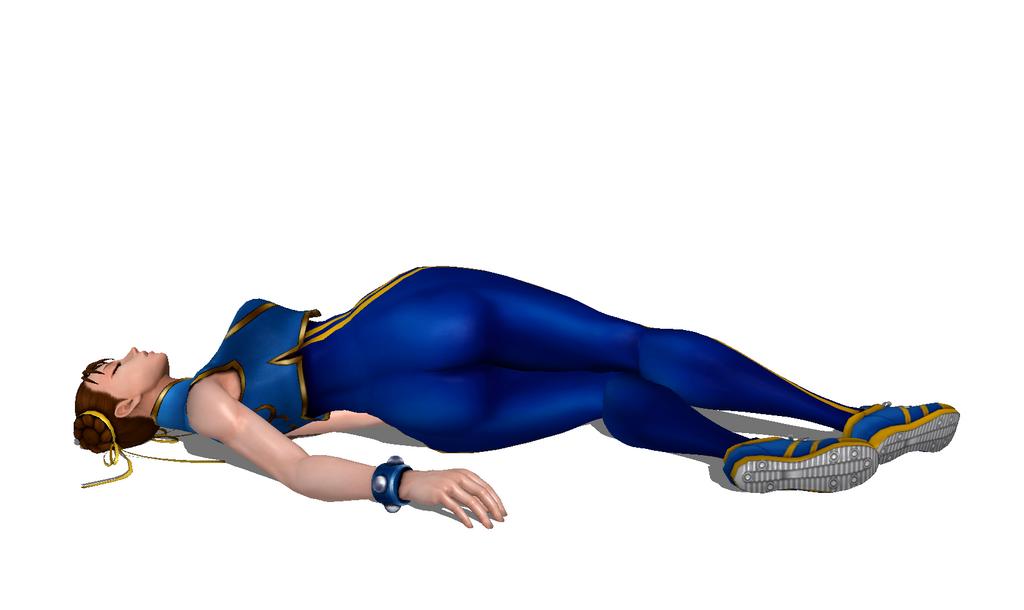 Chun Li (Marvel Vs. Capcom 3) Defeated 2 By FallenParty On